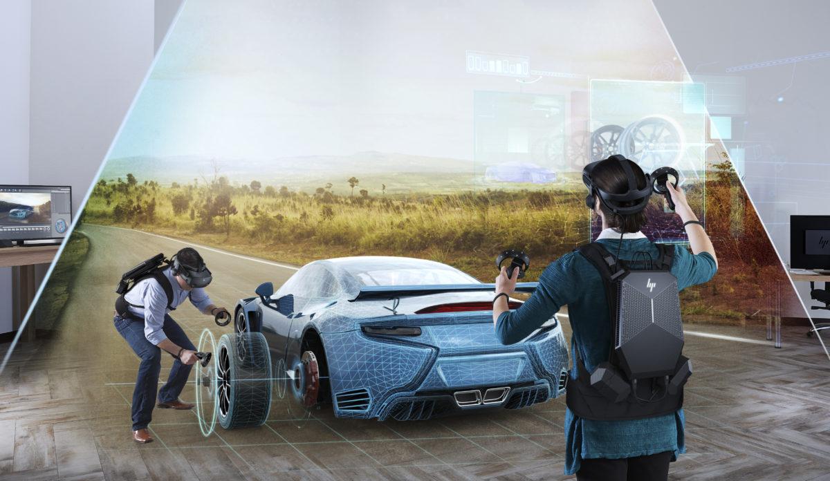 Casque de réalité virtuelle HP Reverb G2