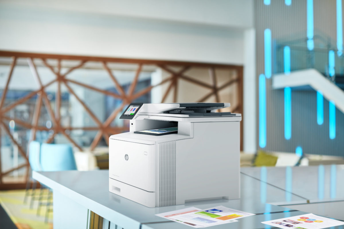 Imprimante multifonction HP Color LaserJet Pro M283fdn